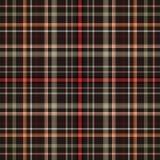 格子呢背景和格子花呢披肩苏格兰织品,爱尔兰语 库存例证