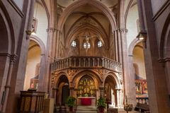 格尔恩豪森教会 库存图片