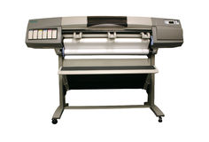 格式大打印机 免版税库存图片