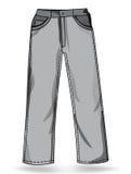 格式裤子 免版税图库摄影