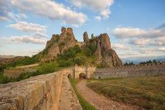 贝洛格拉奇克堡垒入口 免版税库存照片