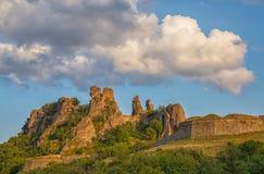 贝洛格拉奇克堡垒和岩石 免版税库存照片
