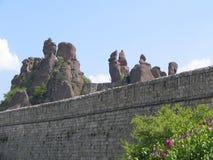 贝洛格拉奇克岩石 库存照片