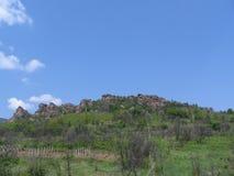 贝洛格拉奇克岩石 免版税库存图片