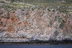 格拉姆武萨群岛半岛在希腊 免版税库存照片