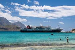 格拉姆武萨群岛海岛希腊 免版税库存照片