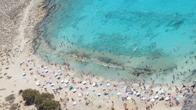 格拉姆武萨群岛,希腊 库存图片