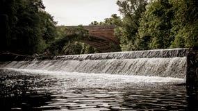 格拉斯哥凯尔文瀑布 免版税库存照片