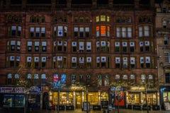 格拉斯哥大厦 库存照片