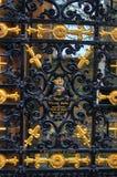 格拉斯哥大墓地,维多利亚女王时代的哥特式公墓,苏格兰,英国 库存图片