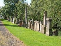 格拉斯哥大墓地 免版税库存照片