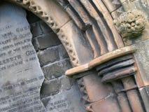 格拉斯哥大墓地 库存照片
