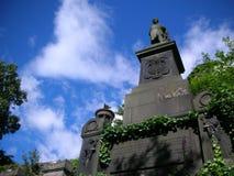 格拉斯哥大墓地 图库摄影