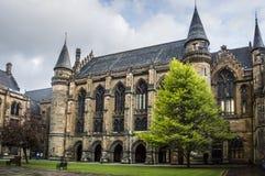 格拉斯哥大学内在庭院 免版税库存图片