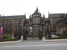 格拉斯哥大学,苏格兰,英国 图库摄影
