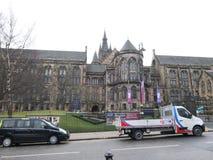 格拉斯哥大学,苏格兰,英国 库存照片