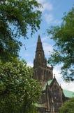格拉斯哥大教堂在格拉斯哥,苏格兰 免版税库存图片