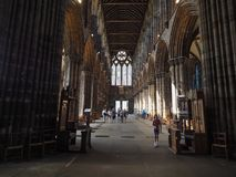 格拉斯哥大教堂在格拉斯哥 免版税库存照片