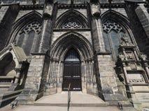 格拉斯哥大教堂教会 免版税图库摄影