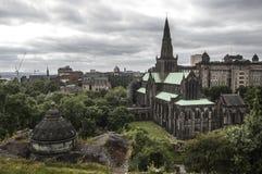 格拉斯哥大教堂 免版税库存图片