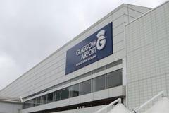 格拉斯哥机场 图库摄影