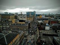 格拉斯哥都市风景 免版税库存照片