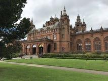 格拉斯哥,苏格兰英国- 2017年8月11日:Kelvingr 免版税库存照片