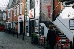 格拉斯哥-伦敦西区 免版税库存照片