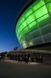 格拉斯哥水力发电竞技场 免版税图库摄影