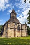 格拉斯顿伯里修道院,萨默塞特,西南英格兰的厨房方丈 库存图片