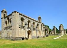 格拉斯顿伯里修道院 库存图片