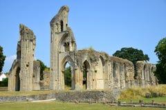 格拉斯顿伯里修道院 免版税库存照片