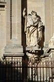 格拉纳达大教堂前面  库存照片