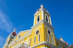 格拉纳达大教堂在尼加拉瓜 图库摄影