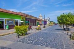 格拉纳达,尼加拉瓜 库存照片