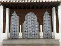 格拉纳达,洗净液的来源清真寺;仅社论用途 库存照片