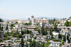 格拉纳达-西班牙 免版税库存照片