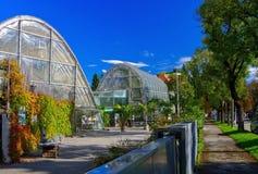 格拉茨植物园 免版税库存图片