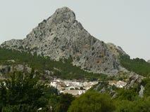 格拉萨莱马村庄,安大路西亚,西班牙 免版税库存图片