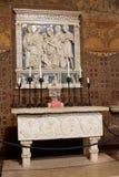 格拉达拉城堡,意大利内部  免版税库存照片