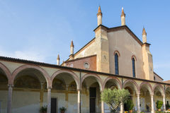 格拉齐亚圣所在mincio的 图库摄影