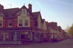 格林威治历史的村庄在伦敦英国英国 库存照片