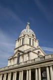 格林威治伦敦钟楼 免版税库存照片
