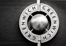 格林威治商标 免版税库存图片