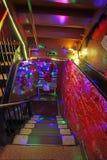 格林尼治村酒吧里面, NY,美国 库存照片