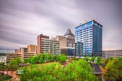 格林斯博罗,北卡罗来纳,美国 免版税图库摄影