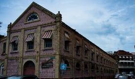 格林纳达St乔治公立图书馆倾船 库存照片
