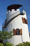 格林那达海岛灯塔 免版税库存图片