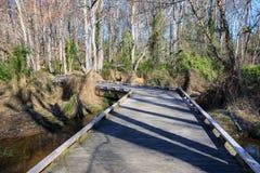 格林维尔SC湖Conestee自然公园 免版税库存照片