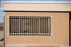 格栅卫兵防护矛视窗 免版税库存照片